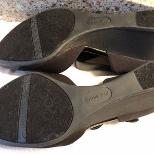 Anne Klein Sport Shoes - Anne Klein Sport Wedges with patent leather detail